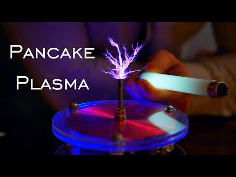 World's Most Powerful Pancake Slayer Tesla Coil? (Melts Copper)