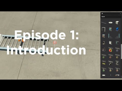 Factory IO Episode 1 – Getting Started