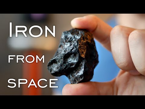 This Meteorite Was the Core of A Planet?