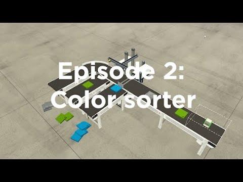 Factory IO #2 – How to make a color sorter