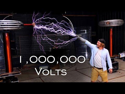 Catching Lightning From 1,000,000v Tesla Coil! (Ft. ArcAttack)