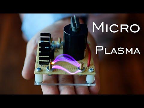 DIY Plasma Physics Powersource (Mini 20,000v Flyback)