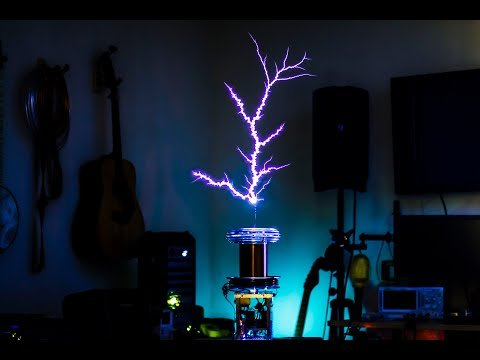 Thundermouse Tesla Coil Kit MIDI Test /w Moonlight Sonata III