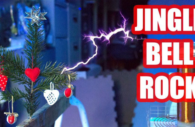Jingle Bell Rock, on a Musical Tesla Coil