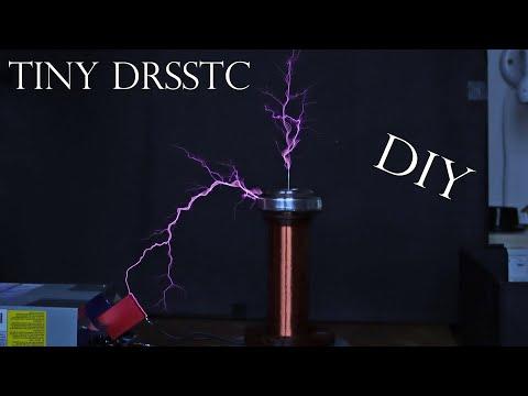 DIY extrem powerful tiny Teslacoil (DRSSTC)