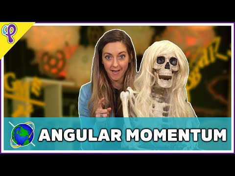 Angular Momentum – Physics 101 / AP Physics 1 Review with Dianna Cowern