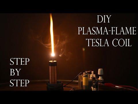 DIY Plasma flame Tesla Coil – Step by Step (ft.Plasma Channel)