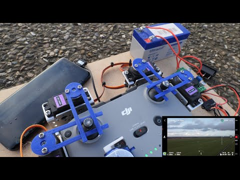 I MADE AN ARDUINO ROBOT THAT FLIES THE DJI MAVIC MINI 2 – HowTo