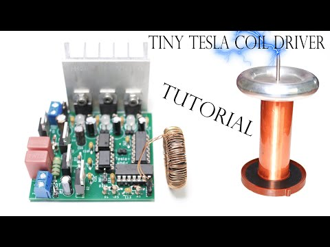 How to test a Tesla Coil Driver? Tutorial