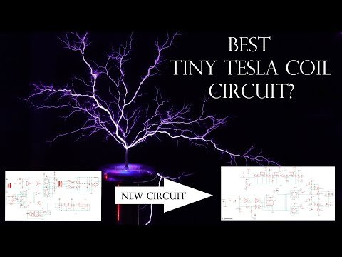 Best Tiny Tesla Coil Circuit? New Driver, New Opportunities