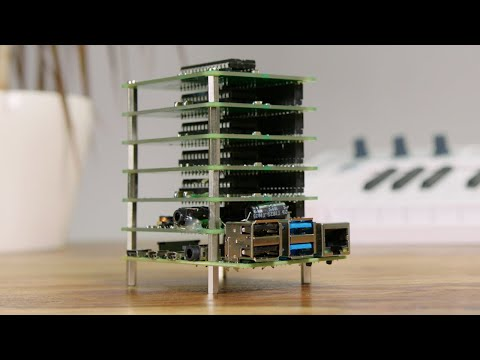 Raspberry Pi and Commodore 64 Synthesiser