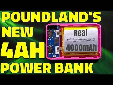 Poundland's new 4000mAh power bank