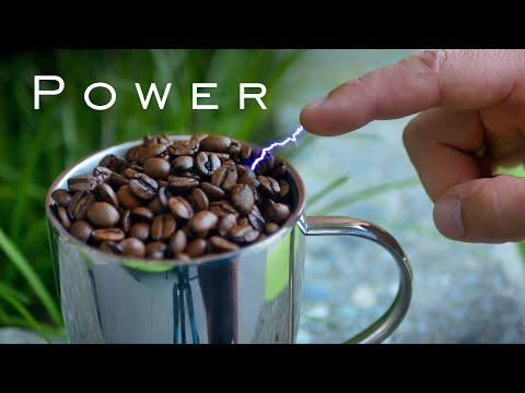 Extracting High Voltage from Crappy Coffee