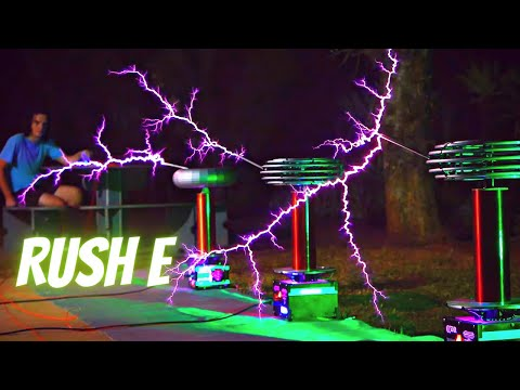 RUSH E performed by TESLA COILS