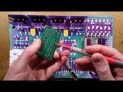 Exploring an Otis Elevator button interface PCB